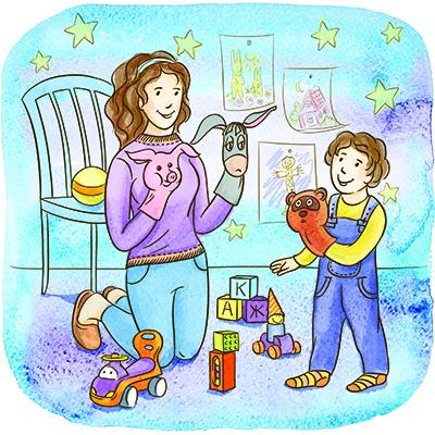 Играть с детьми: почему это так важно